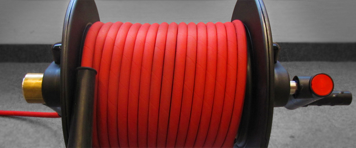 High Pressure Hoses and Hose Drums